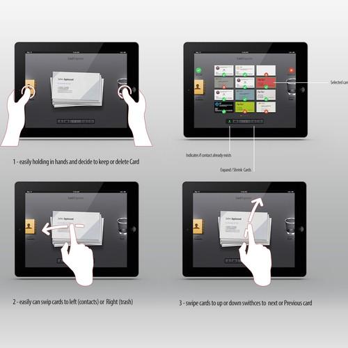 Design our Business Card scanner app