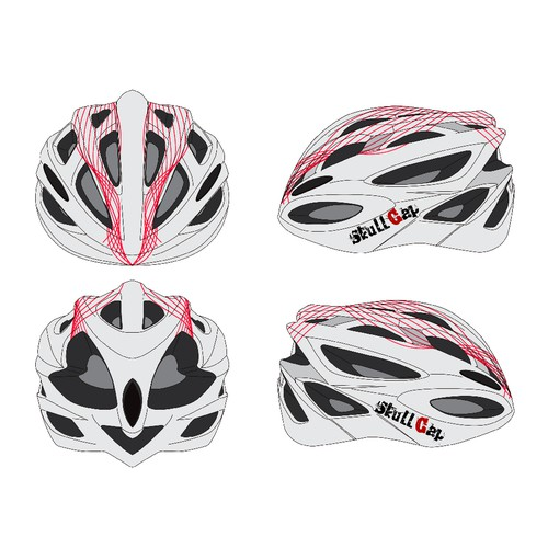 Decals for Road Bike Cycling Helmet