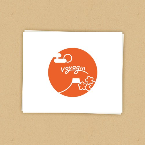 Voyagin sticker