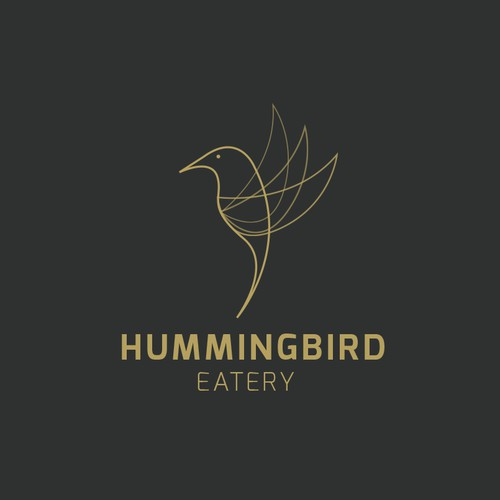 Logodesign for Hummingbird - Restaurant, Bar, Rooftop