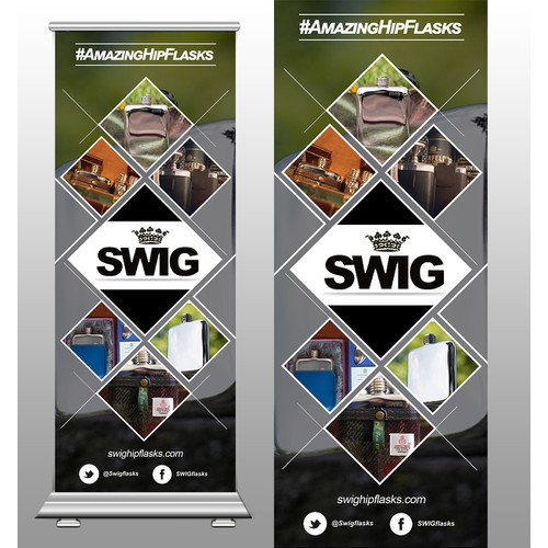 Swig Roll up Banner
