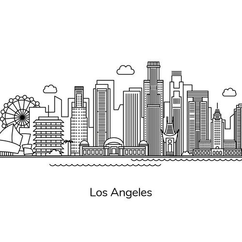 Illustration - Los Angeles