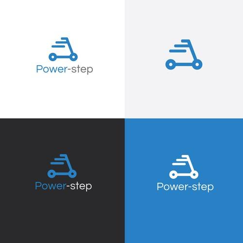 Modern & simple Logo Design For power Step