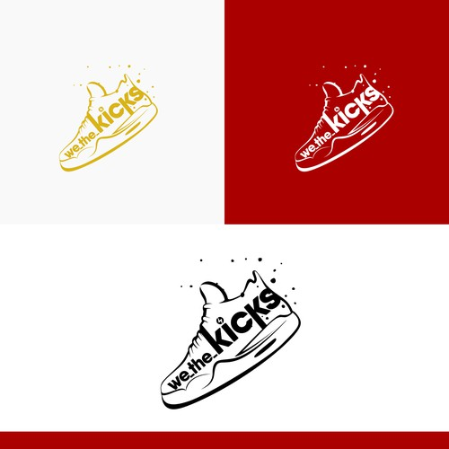Logo concept for we_the_kicks
