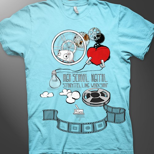 Fun, creative, hip, t-shirt design needed
