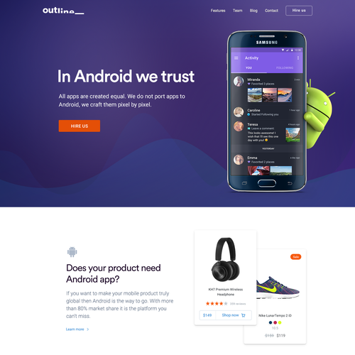 Development Agency Webdesign