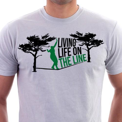 Slacklining Company t-shirt design