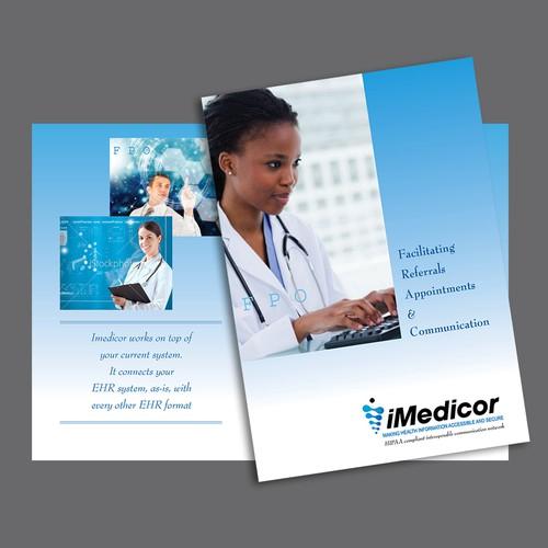 iMedicor needs a new brochure design
