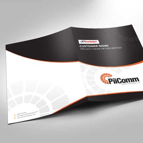 Create a winning proposal template document for PiiComm!