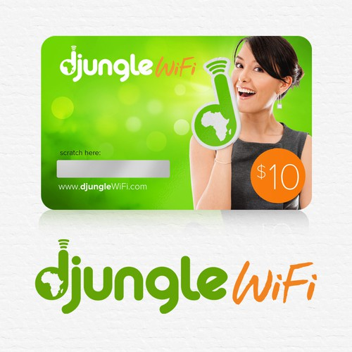 Create an outstanding logo for DjungleWiFi