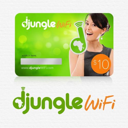 Create an outstanding logo for DjungleWiFi