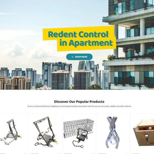Rodents Control Website
