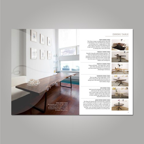 "Catalogue ""the Red threads"" - Interior"