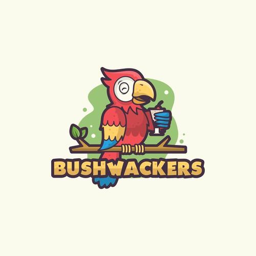 Fun logo for bushwackers