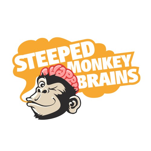 Create a whimsical Monkey with his brains exposed!