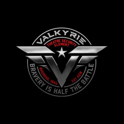 Logo design for Valkyrie