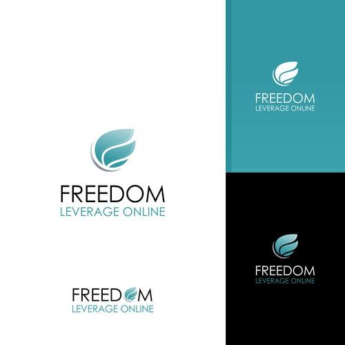 design logo for Freedom Leverage Online
