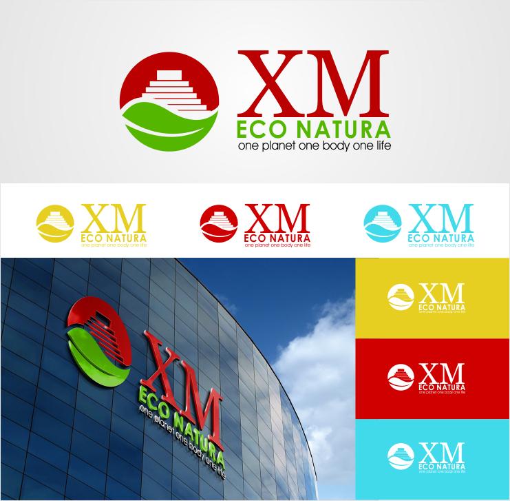 Create the next logo for Xm eco natura.