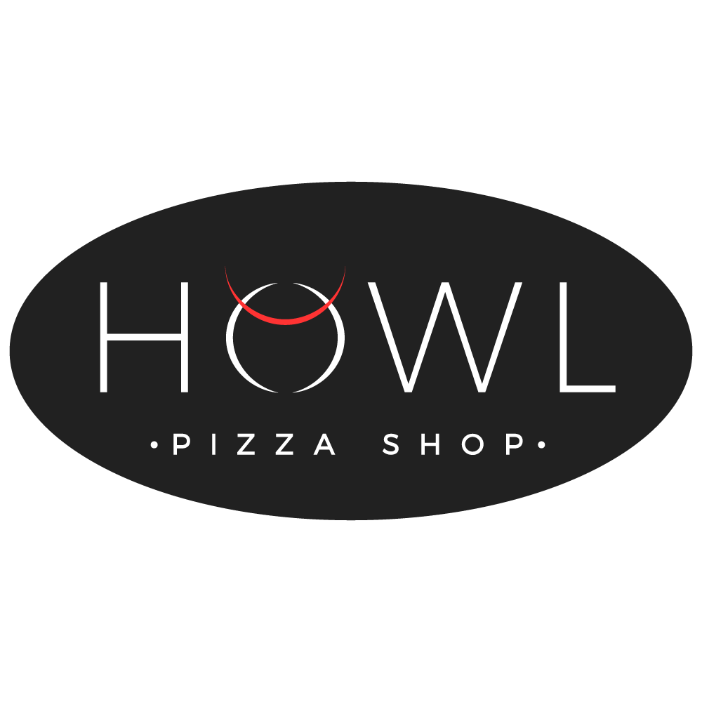 HOWL brewery and pizza shop needs an eye catching logo
