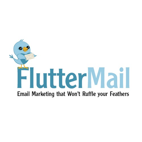 Logo Design for FlutterMail website