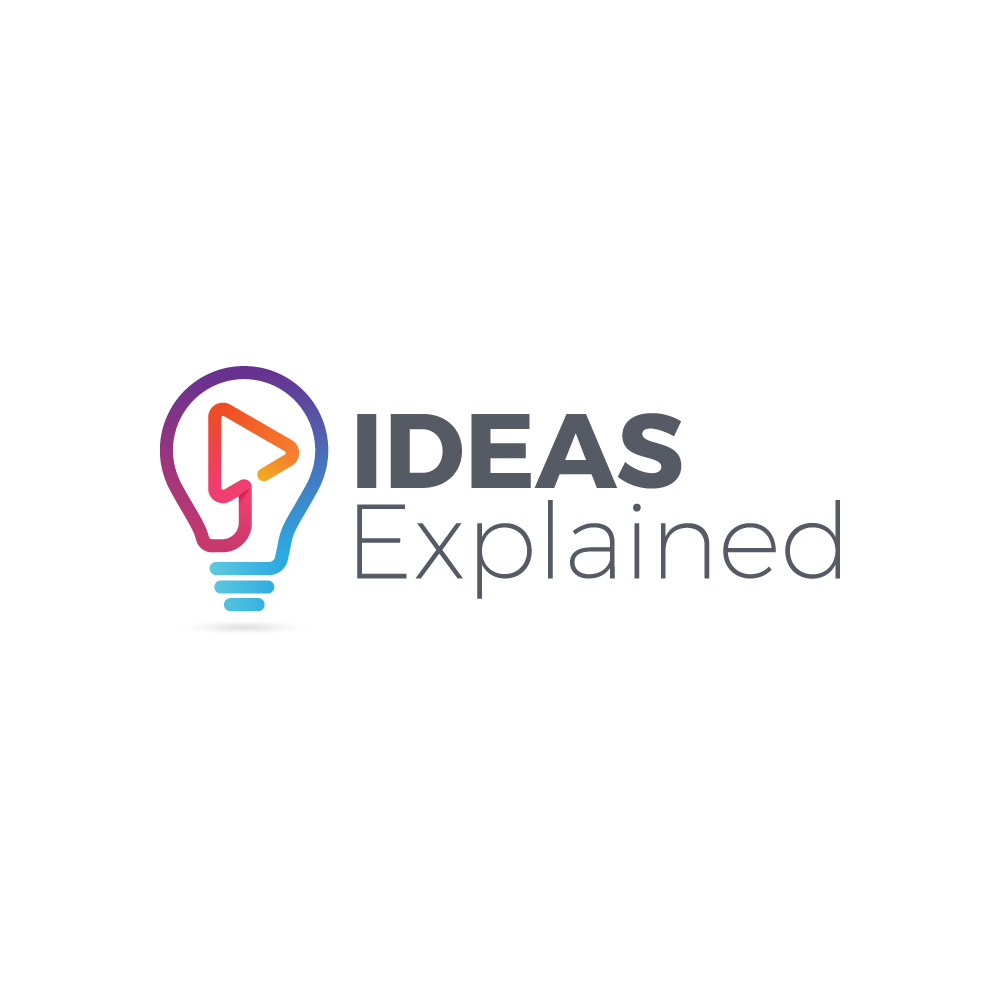 Logo for educational YouTube channel IdeasExplained