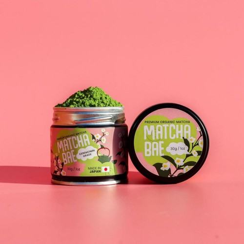 Matcha Bae Label Design