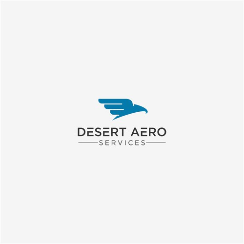 Clean and Simple Logo for Aviation Industry