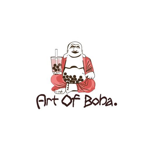 Art of Boba Logo