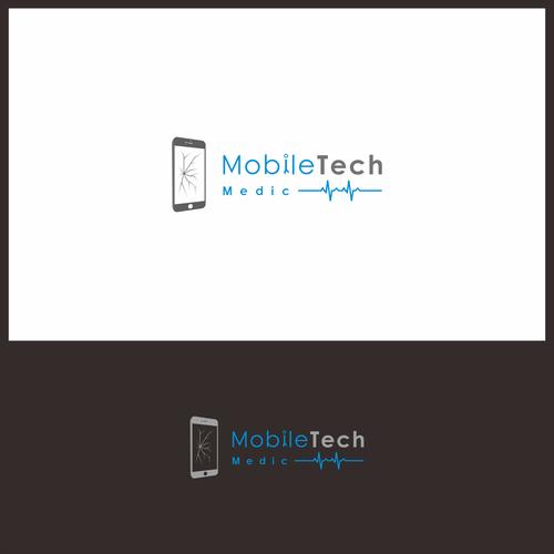 Logo concept for Mobile Tech