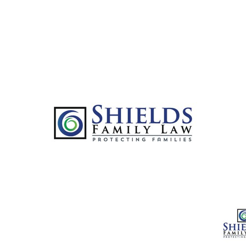 Logo for a modern family centered family law practice that is not traditional and stuffy