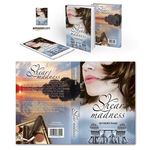 "Book cover for ""Shear Madness"" by Rhonda Blackhurst"
