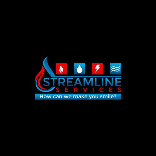 Streamline Logo Design.