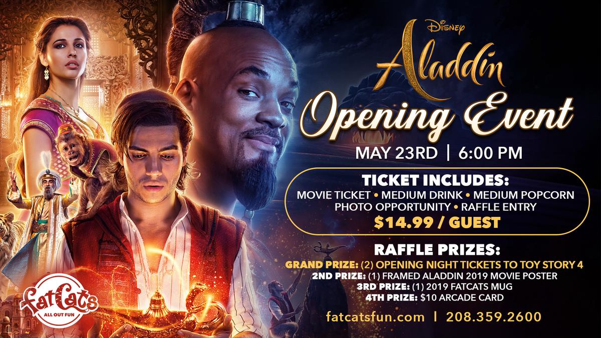 Alladin Movie Event Poster