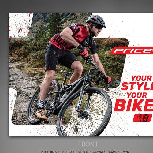 Price Bikes catalogue design