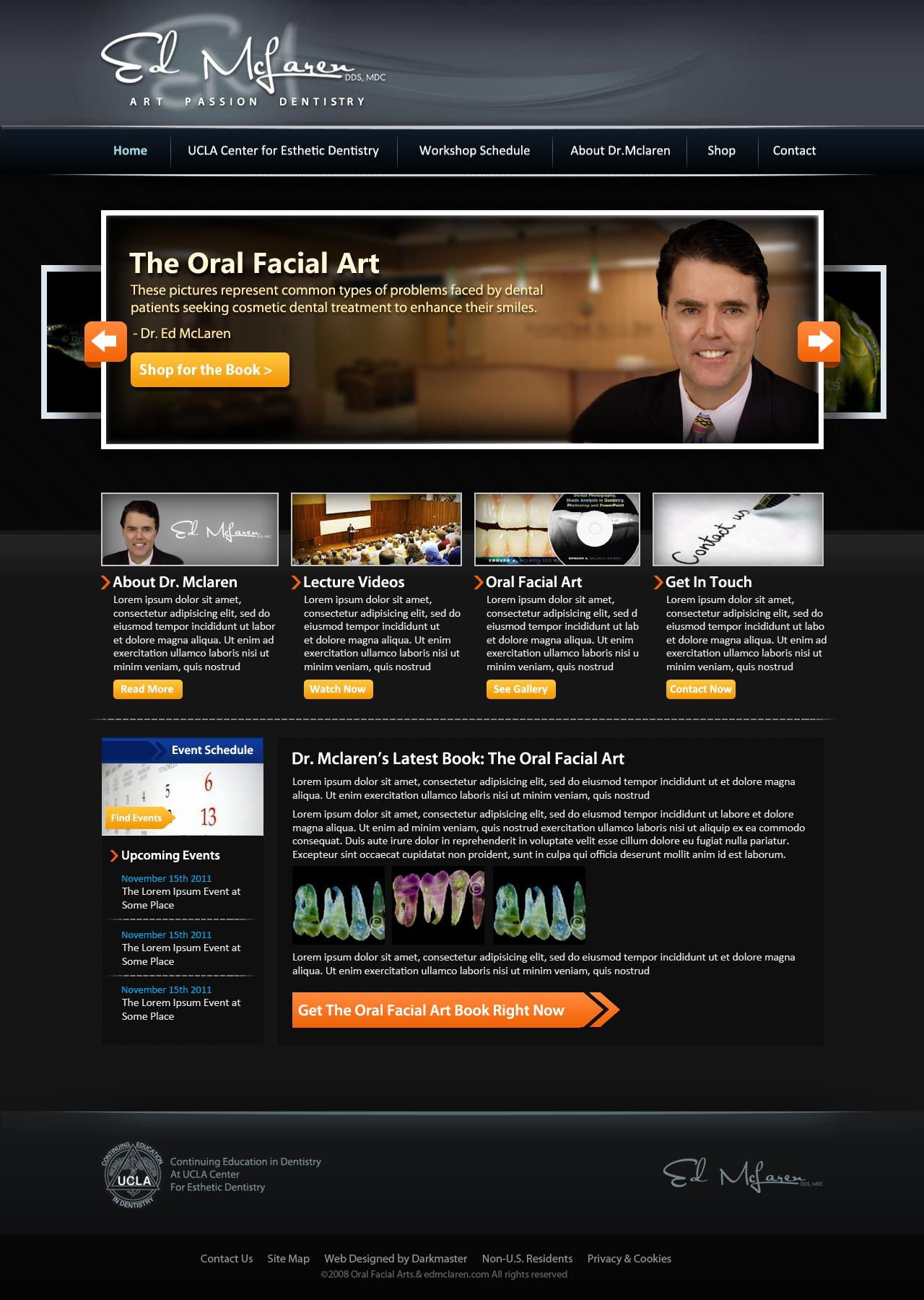 Create the next Website for Dr. Ed McLaren