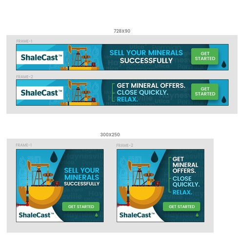 ShaleCast Advisor banners