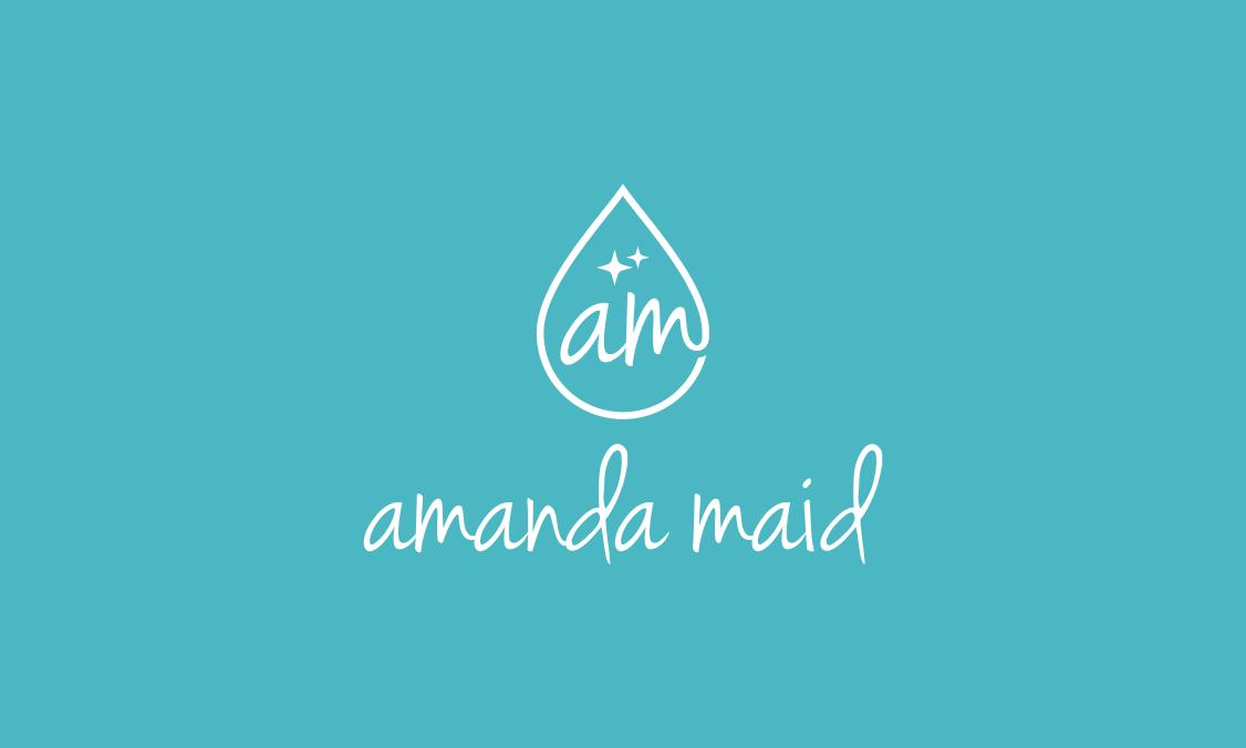 amanda maid business card
