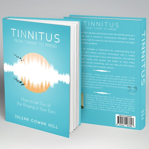 Calming and Inspiring Book cover for people struggling with a certain condition