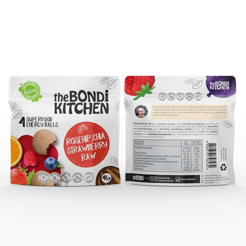 Superfood Energy Balls, Bondi Chai