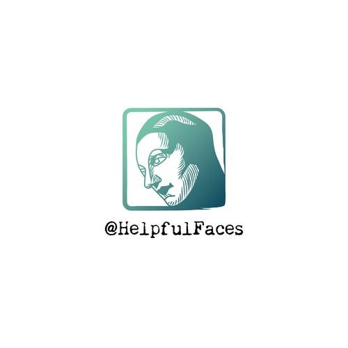 Logo for social media account