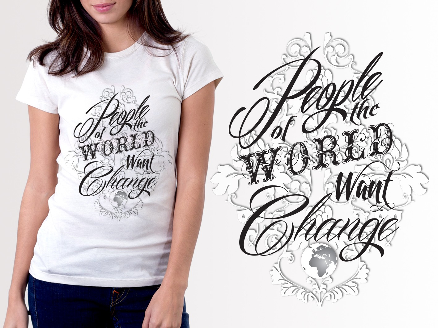T-shirt contest: T-shirt promoting peaceful resistance