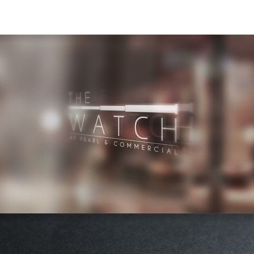 THE WATCH at Pearl & Commercial needs an eye-catching logo
