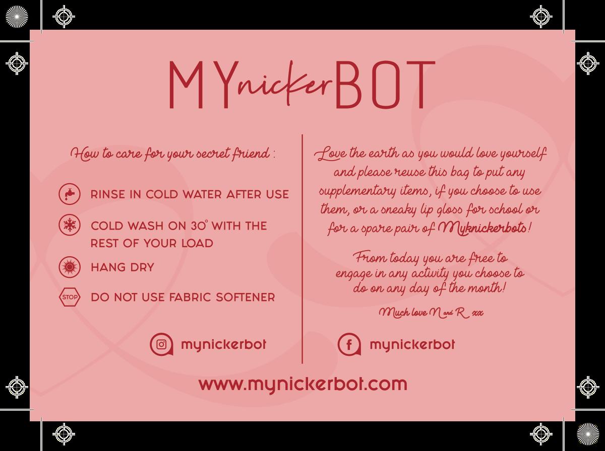 Logo for mynickerbot