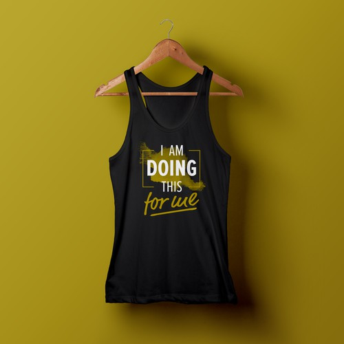 Fitness T-Shirt - I'm Doing This For Me