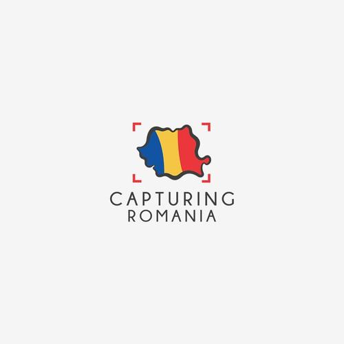 Capturing Romania Logo
