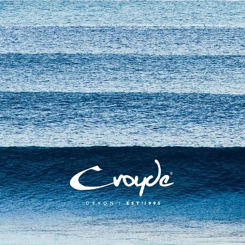 Croyde Devon Surf style logo