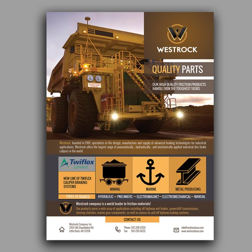advertising flyers for Westrock Company