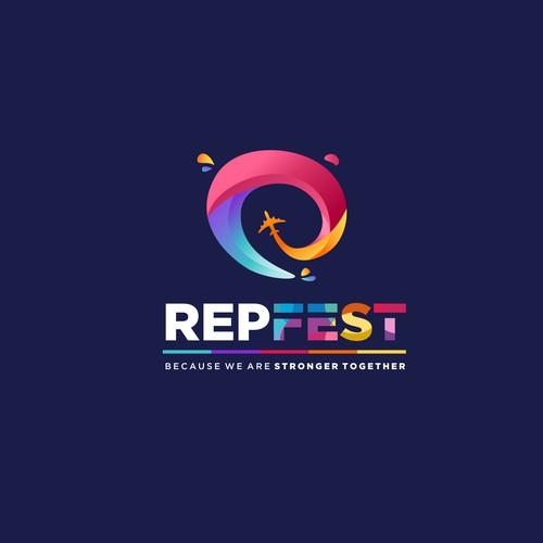 Logo concept for a Travel company's event