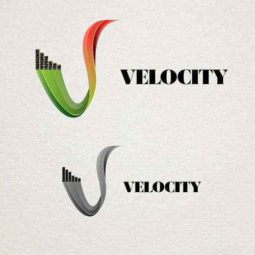 """Fun, elegant band for special events called """"Velocity"""" needs a great contemporary logo!"""