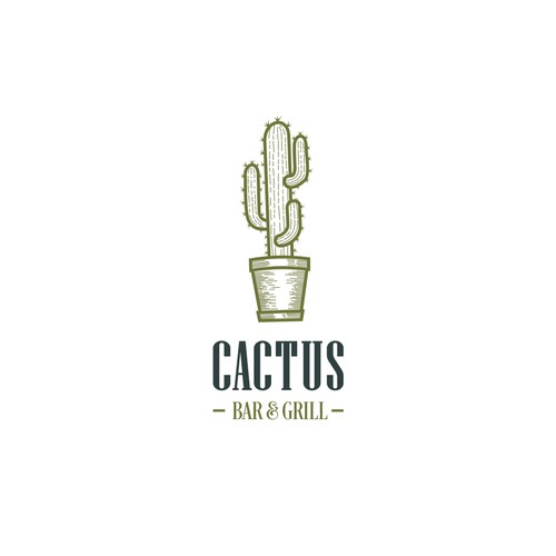 Create a fresh, new brand image for the relaunch of our newly renovated legendary Chicago tavern Cactus Bar & Grill
